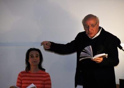 Lesung mit dem syrischen Poeten Fawaz Kadrie