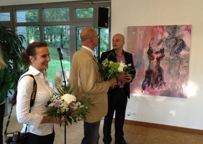 Mit Hans-Joachim Wegner