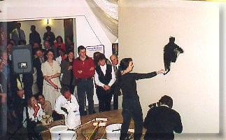 Action Painting für das ARD Fernsehen